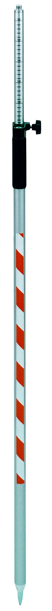 Prismenstab GPS 800, Aluminium, L=1,20-2,20m