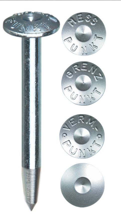 Vermarkungsbolzen Superkopf GP, L 75mm