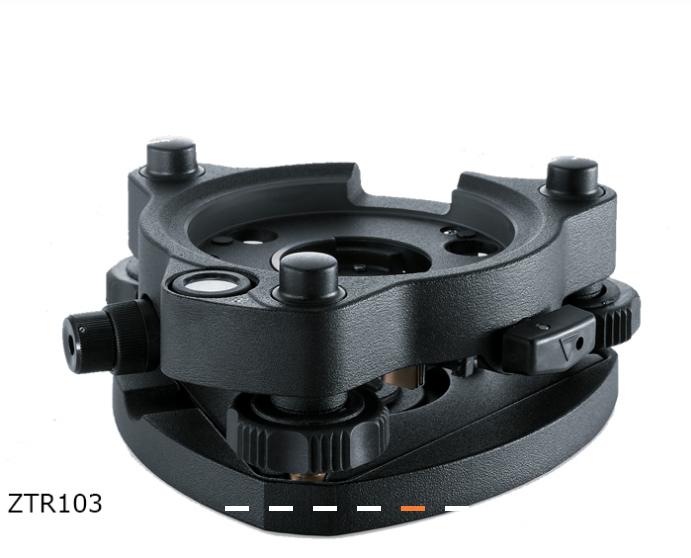 Dreifuß ZTR103 mit optischem Lot, schwarz