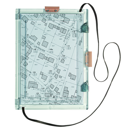 Feldbuchrahmen FK400, Plexiglas, DIN A4